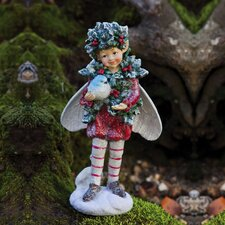 Holiday Shimmer Fairy Statue