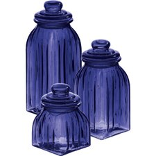 Glass Jar (Set of 3)