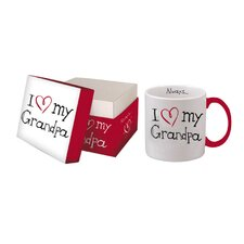 """I Love My Grandpa"" Boxed Title Mug"