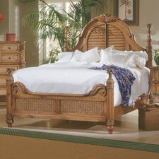 Palm Court Low Poster Bed