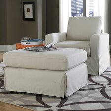 Lily Chair and Ottoman