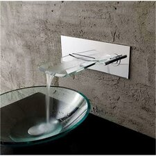 Bath Glass Waterfall Faucet