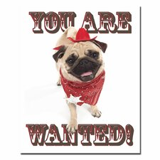 "You Are Wanted by Gifty Idea Greeting Cards And Such, Canvas Art - 32"" x 26"""