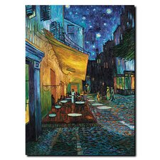 Café Terrace by Vincent Van Gogh Canvas Art