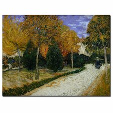 """Path in the Park at Arles, 1888"" Canvas Art"