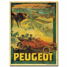 """Peugeot Cars, 1908"" Canvas Art"
