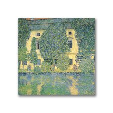 """The Schloss Kammer on the Atterse"" Canvas Art"