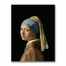 """Girl with a Pearl Earring"" Canvas Art"