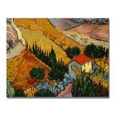 """Landscape with House"" Canvas Art"
