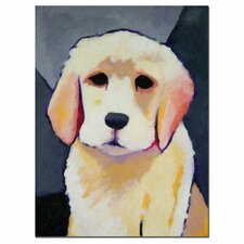 'Puppy Dog' Canvas Art