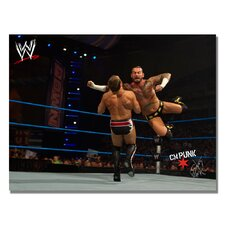 'WWE CM Punk' Canvas Art