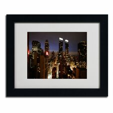 """City Lights"" Framed Art"