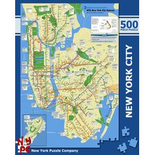 New York City Subway 500-Piece Puzzle