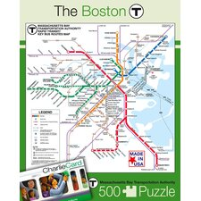 Boston Subway 500-Piece Puzzle