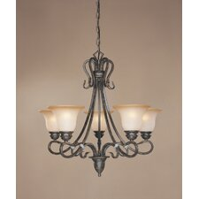 Covey 5 Light Chandelier