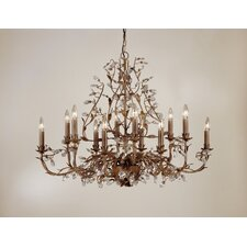 Freya 12 Light Chandelier