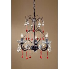 Venetian 3 Light Mini Chandelier