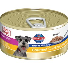 Small and Toy Mature Adult Gourmet Chicken Entrée Wet Dog Food (5.8-oz)