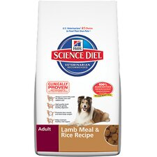 Adult Advanced Fitness Lamb Meal and Rice Recipe Dry Dog Food
