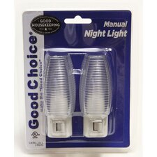 Manual Night Light (Set of 2)