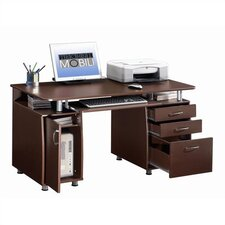 Super Storage Computer Desk