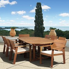 Amazonia Vincent 9 Piece Dining Set