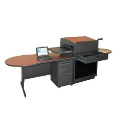 Zapf Office Support Teacher's Desk with Acrylic Door