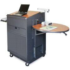 Zapf Office Support Media Center Cart with Steel Door