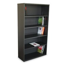 Ensemble Five Shelf Bookcase