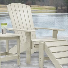 Laguna Adirondack Chair and Ottoman