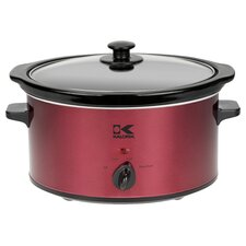 3.5 Qt Slow Cooker in Red