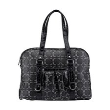 Tomei Ladies Laptop Handbag in Black