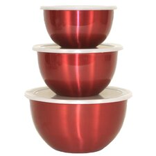 Covered Mixing Bowl (Set of 3)