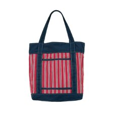Club House Stripe Fashion Tote Bag