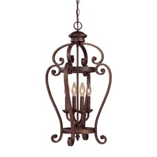 Oxford 4 Light Pendant