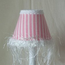 Cotton Candy Stripe Table Lamp Shade