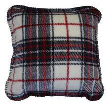 Acrylic / Polyester Plaid Pillow