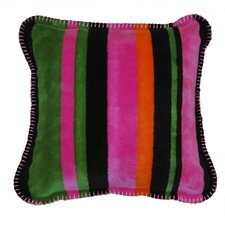 Acrylic / Polyester Bold Stripe Pillow