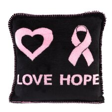 Acrylic / Polyester Love Hope Pillow