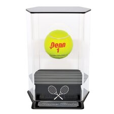 Floating Tennis Ball Display with Engraving
