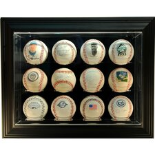"Twelve Baseball ""Case-Up"" Display"