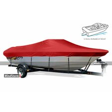 WindStorm Bay Style Boat Cover with Center Console and Shallow Draft