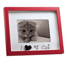 "Home Shadowbox ""I Love My Cat"" Picture Frame"