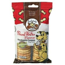Peanut Butter Flavor Sandwich Cremes Dog Treat