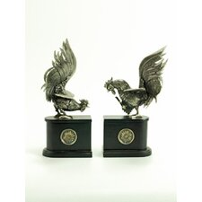 Rooster Bookend