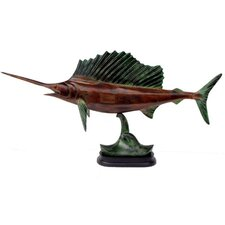 Patina Sailfish on Base