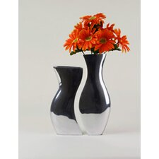 Aluminum Adjoining Vase (Set of 2)