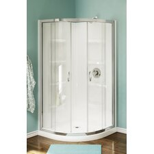 Nevada Neo-Round Corner Shower Set