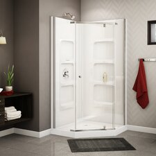 Nevada Neo-Angle Corner Shower Set