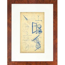 Seaside Living Vingate Astronomy II Framed Wall Art
